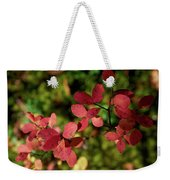 Northern Bilberry Weekender Tote Bag