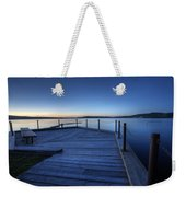 Northern Lake Evening Weekender Tote Bag