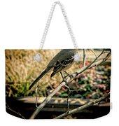 Northern Mockingbird On The Highline Weekender Tote Bag