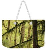 Northwest Mossy Tree Weekender Tote Bag