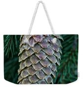 Norway Spruce Cone Weekender Tote Bag