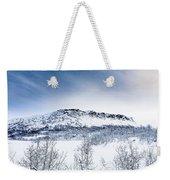 Norwegian Winter Weekender Tote Bag