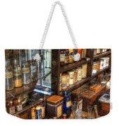 Nostalgia  Pharmacy Weekender Tote Bag by Bob Christopher