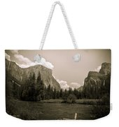 Nostalgic Yosemite Valley Weekender Tote Bag