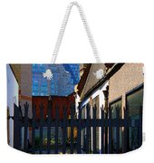 Not The Top Cat Weekender Tote Bag by Jasna Buncic
