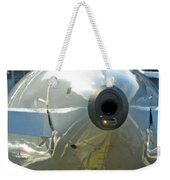 Not The Usual Aircraft Photo Weekender Tote Bag