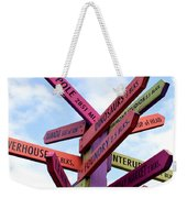 Not Your Way But Yahweh Weekender Tote Bag