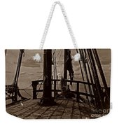 Notorious The Pirate Ship 4 Weekender Tote Bag