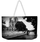 Notre Dame Along The Seine Weekender Tote Bag
