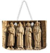 Notre Dame Details 1 Weekender Tote Bag