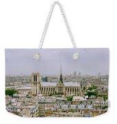 Notre Dame In Paris Weekender Tote Bag
