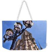 Notre Dame Tower Weekender Tote Bag