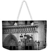 Notre Dame With Luminaires Weekender Tote Bag