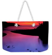 Nova Scotia Sunrise Weekender Tote Bag