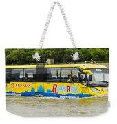 Novel River Boat Weekender Tote Bag