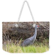 November Sandhill Crane Weekender Tote Bag