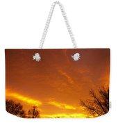 November Sunrise Weekender Tote Bag