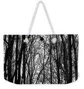 November Wood Weekender Tote Bag