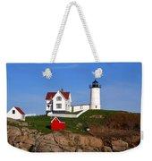Nubble Light House Weekender Tote Bag