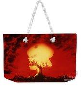 Nuclear Explosion Weekender Tote Bag