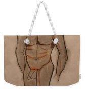 Nude Male Drawing Weekender Tote Bag