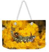 Nudibranch On Sponge Weekender Tote Bag