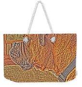 Nuge Art Weekender Tote Bag