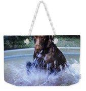 Nute Splashing Weekender Tote Bag