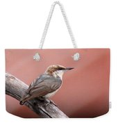 Nuthatch - Bird - Barn Roof Weekender Tote Bag