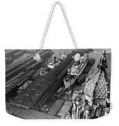 Ny Docks View Weekender Tote Bag