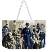 Ny Slum Children, 1864 Weekender Tote Bag