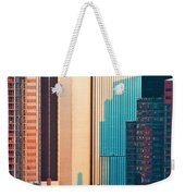 Nyc Colors And Lines II Weekender Tote Bag