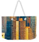 Nyc Colors And Lines IIi Weekender Tote Bag