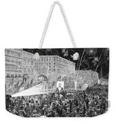 Nyc: Democrat Parade, 1876 Weekender Tote Bag by Granger