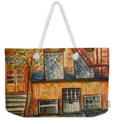 Nyc Graffiti Weekender Tote Bag