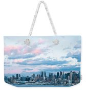 Nyc Sundown Blue II Weekender Tote Bag