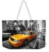 Nyc Yellow Cab Weekender Tote Bag