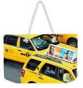 Nyc Yellow Cabs Weekender Tote Bag