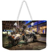 Nypd Bikes Weekender Tote Bag by Yhun Suarez