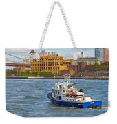 Nypd In The Water Weekender Tote Bag