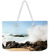 Oahu North Shore Breaker Weekender Tote Bag