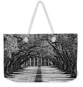Oak Alley Monochrome Weekender Tote Bag by Steve Harrington