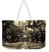 Oak Alley Sepia Weekender Tote Bag
