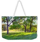 Oak Trees In The Spring Weekender Tote Bag