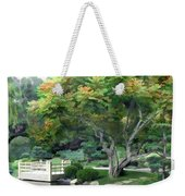 Oasis In A Sea Of Green Weekender Tote Bag