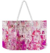 Oblong Abstract I Weekender Tote Bag
