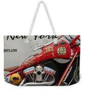 Occ Fdny Motorcycle Weekender Tote Bag