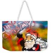 Occupy Christmas Weekender Tote Bag