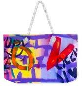 Occupy Graffiti Love Weekender Tote Bag