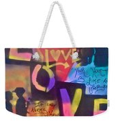 Occupy Love Open Heart Weekender Tote Bag